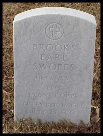 SWOPES (VETERAN ), BROOKS EARL - Pulaski County, Arkansas | BROOKS EARL SWOPES (VETERAN ) - Arkansas Gravestone Photos