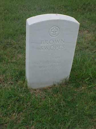 SWOPES (VETERAN WWII), BROWN - Pulaski County, Arkansas | BROWN SWOPES (VETERAN WWII) - Arkansas Gravestone Photos