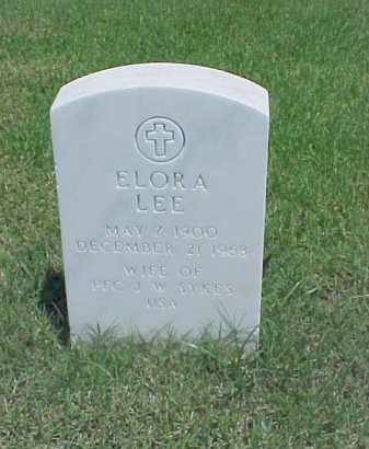 SYKES, ELORA LEE - Pulaski County, Arkansas | ELORA LEE SYKES - Arkansas Gravestone Photos