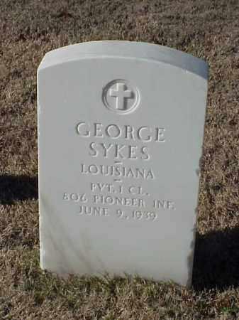 SYKES (VETERAN WWI), GEORGE - Pulaski County, Arkansas | GEORGE SYKES (VETERAN WWI) - Arkansas Gravestone Photos