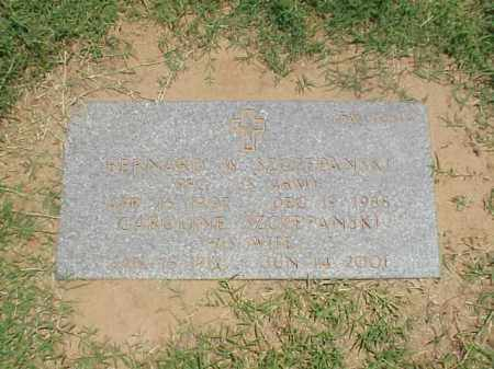 SZCZEPANSKI (VETERAN WWII), BERNARD - Pulaski County, Arkansas | BERNARD SZCZEPANSKI (VETERAN WWII) - Arkansas Gravestone Photos