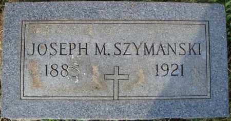 SZYMANSKI, JOSEPH M. - Pulaski County, Arkansas | JOSEPH M. SZYMANSKI - Arkansas Gravestone Photos