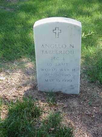 TABLERIOU (VETERAN WWII), ANGELO N - Pulaski County, Arkansas | ANGELO N TABLERIOU (VETERAN WWII) - Arkansas Gravestone Photos