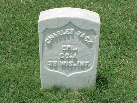 TACK (VETERAN UNION), CHARLES - Pulaski County, Arkansas | CHARLES TACK (VETERAN UNION) - Arkansas Gravestone Photos