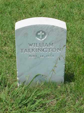 TALKINGTON (VETERAN UNION), WILLIAM - Pulaski County, Arkansas | WILLIAM TALKINGTON (VETERAN UNION) - Arkansas Gravestone Photos