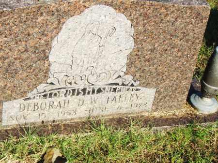 TALLEY, DEBORAH D.W. - Pulaski County, Arkansas   DEBORAH D.W. TALLEY - Arkansas Gravestone Photos