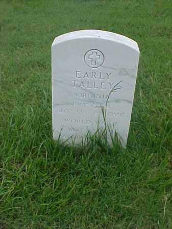TALLEY (VETERAN WWI), EARLY - Pulaski County, Arkansas | EARLY TALLEY (VETERAN WWI) - Arkansas Gravestone Photos