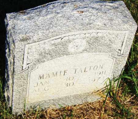 TALTON, MAMIE - Pulaski County, Arkansas   MAMIE TALTON - Arkansas Gravestone Photos