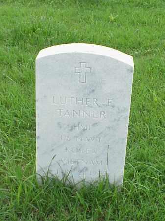 TANNER (VETERAN 2 WARS), LUTHER - Pulaski County, Arkansas   LUTHER TANNER (VETERAN 2 WARS) - Arkansas Gravestone Photos