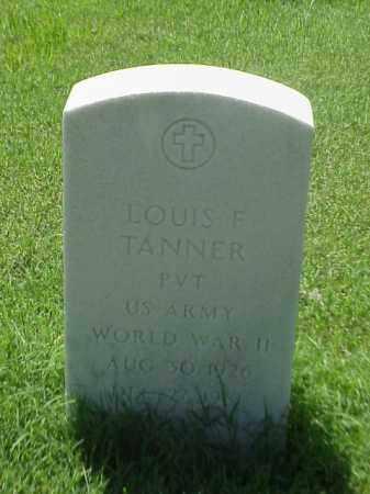 TANNER (VETERAN WWII), LOUIS F - Pulaski County, Arkansas | LOUIS F TANNER (VETERAN WWII) - Arkansas Gravestone Photos
