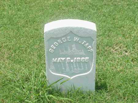 TAPP (VETERAN UNION), GEORGE W - Pulaski County, Arkansas   GEORGE W TAPP (VETERAN UNION) - Arkansas Gravestone Photos