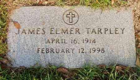 TARPLEY, JAMES ELMER - Pulaski County, Arkansas | JAMES ELMER TARPLEY - Arkansas Gravestone Photos