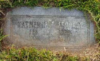 TARPLEY, KATHERINE - Pulaski County, Arkansas | KATHERINE TARPLEY - Arkansas Gravestone Photos