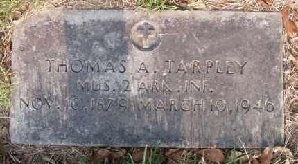 TARPLEY, THOMAS ABRAHAM - Pulaski County, Arkansas   THOMAS ABRAHAM TARPLEY - Arkansas Gravestone Photos