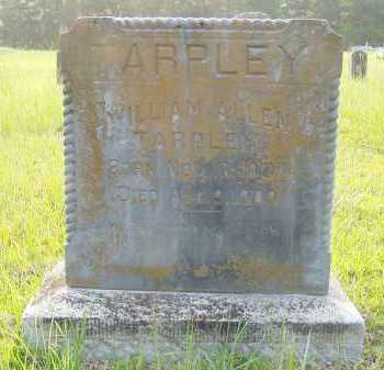 TARPLEY, WILLIAM ALLEN - Pulaski County, Arkansas | WILLIAM ALLEN TARPLEY - Arkansas Gravestone Photos
