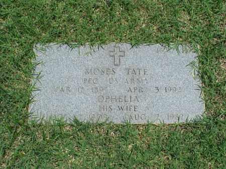TATE (VETERAN WWI), MOSES - Pulaski County, Arkansas | MOSES TATE (VETERAN WWI) - Arkansas Gravestone Photos