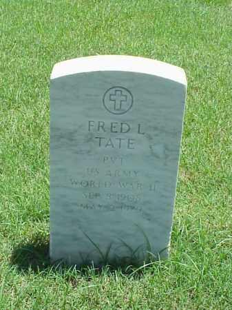 TATE (VETERAN WWII), FRED L - Pulaski County, Arkansas   FRED L TATE (VETERAN WWII) - Arkansas Gravestone Photos