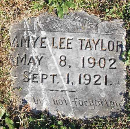 LEE TAYLOR, AMYE - Pulaski County, Arkansas   AMYE LEE TAYLOR - Arkansas Gravestone Photos