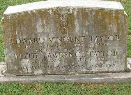 TAYLOR, EDWARD VINCENT - Pulaski County, Arkansas | EDWARD VINCENT TAYLOR - Arkansas Gravestone Photos