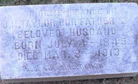 TAYLOR, J M - Pulaski County, Arkansas   J M TAYLOR - Arkansas Gravestone Photos