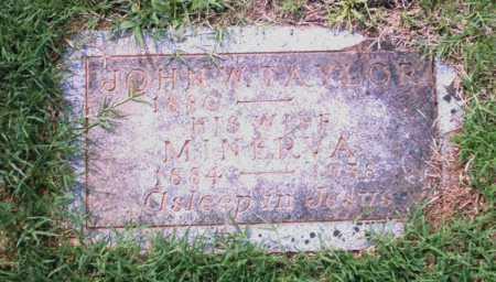 TAYLOR, JOHN W. - Pulaski County, Arkansas | JOHN W. TAYLOR - Arkansas Gravestone Photos