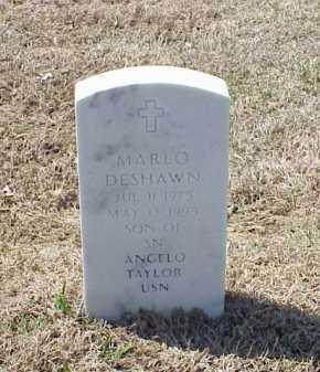 TAYLOR, MARLO DESHAWN - Pulaski County, Arkansas   MARLO DESHAWN TAYLOR - Arkansas Gravestone Photos