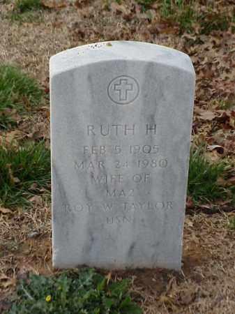 TAYLOR, RUTH H - Pulaski County, Arkansas   RUTH H TAYLOR - Arkansas Gravestone Photos