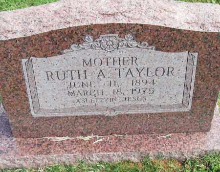 TAYLOR, RUTH A - Pulaski County, Arkansas   RUTH A TAYLOR - Arkansas Gravestone Photos