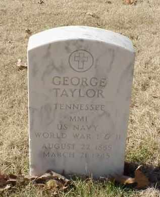 TAYLOR (VETERAN 2 WARS), GEORGE - Pulaski County, Arkansas | GEORGE TAYLOR (VETERAN 2 WARS) - Arkansas Gravestone Photos
