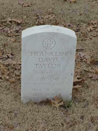 TAYLOR (VETERAN), FRANKLIN DAVIS - Pulaski County, Arkansas | FRANKLIN DAVIS TAYLOR (VETERAN) - Arkansas Gravestone Photos