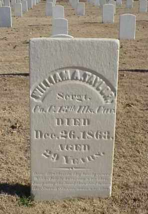 TAYLOR (VETERAN UNION), WILLIAM A - Pulaski County, Arkansas | WILLIAM A TAYLOR (VETERAN UNION) - Arkansas Gravestone Photos