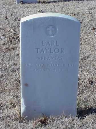 TAYLOR (VETERAN WWI), EARL - Pulaski County, Arkansas | EARL TAYLOR (VETERAN WWI) - Arkansas Gravestone Photos