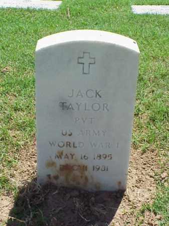 TAYLOR (VETERAN WWI), JACK - Pulaski County, Arkansas | JACK TAYLOR (VETERAN WWI) - Arkansas Gravestone Photos