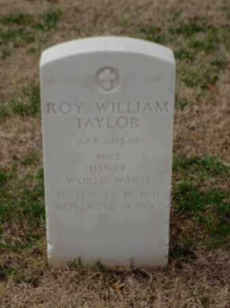 TAYLOR (VETERAN WWI), ROY WILLIAM - Pulaski County, Arkansas | ROY WILLIAM TAYLOR (VETERAN WWI) - Arkansas Gravestone Photos