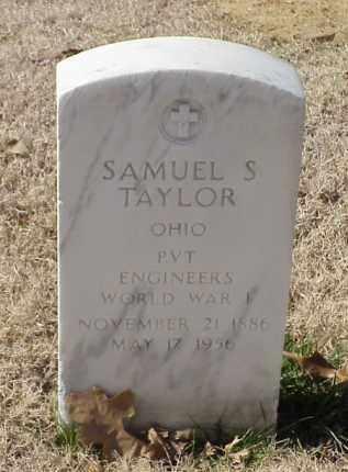 TAYLOR (VETERAN WWI), SAMUEL S - Pulaski County, Arkansas | SAMUEL S TAYLOR (VETERAN WWI) - Arkansas Gravestone Photos