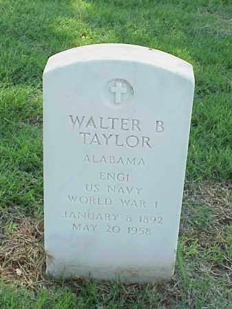 TAYLOR (VETERAN WWI), WALTER B - Pulaski County, Arkansas | WALTER B TAYLOR (VETERAN WWI) - Arkansas Gravestone Photos