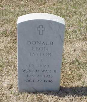 TAYLOR (VETERAN WWII), DONALD LEON - Pulaski County, Arkansas   DONALD LEON TAYLOR (VETERAN WWII) - Arkansas Gravestone Photos