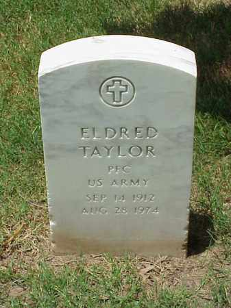 TAYLOR (VETERAN WWII), ELDRED - Pulaski County, Arkansas   ELDRED TAYLOR (VETERAN WWII) - Arkansas Gravestone Photos