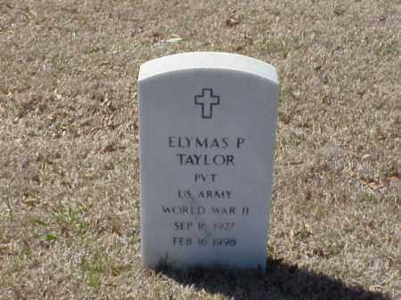 TAYLOR (VETERAN WWII), ELYMAS P - Pulaski County, Arkansas   ELYMAS P TAYLOR (VETERAN WWII) - Arkansas Gravestone Photos