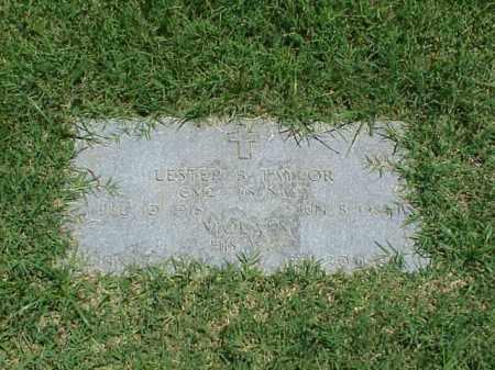 TAYLOR (VETERAN WWII), LESTER B - Pulaski County, Arkansas | LESTER B TAYLOR (VETERAN WWII) - Arkansas Gravestone Photos