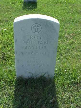 TAYLOR (VETERAN WWII), ROY WILLIAM - Pulaski County, Arkansas   ROY WILLIAM TAYLOR (VETERAN WWII) - Arkansas Gravestone Photos