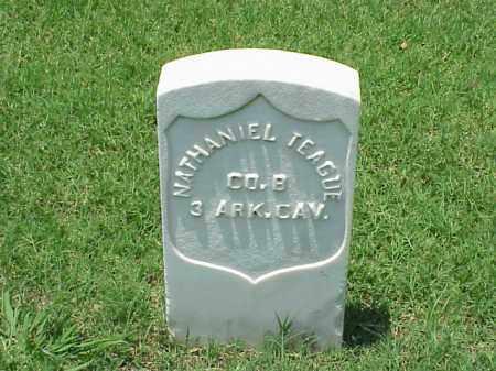 TEAGUE (VETERAN UNION), NATHANIEL - Pulaski County, Arkansas   NATHANIEL TEAGUE (VETERAN UNION) - Arkansas Gravestone Photos