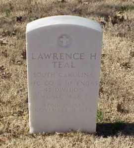 TEAL (VETERAN WWI), LAWRENCE H - Pulaski County, Arkansas   LAWRENCE H TEAL (VETERAN WWI) - Arkansas Gravestone Photos