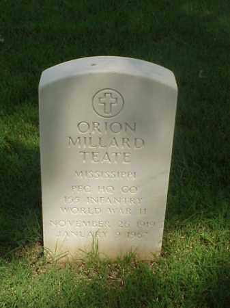 TEATE (VETERAN WWII), ORION MILLARD - Pulaski County, Arkansas | ORION MILLARD TEATE (VETERAN WWII) - Arkansas Gravestone Photos
