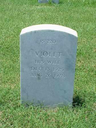 TEED, VIOLET - Pulaski County, Arkansas | VIOLET TEED - Arkansas Gravestone Photos