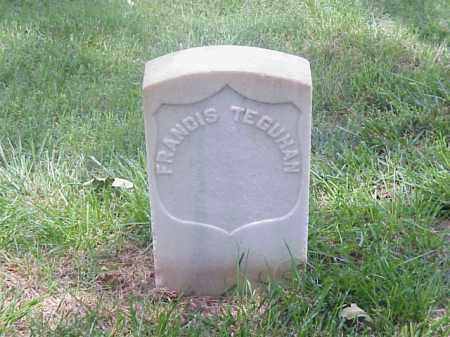 TEGUHAN (VETERAN UNION), FRANCIS - Pulaski County, Arkansas | FRANCIS TEGUHAN (VETERAN UNION) - Arkansas Gravestone Photos