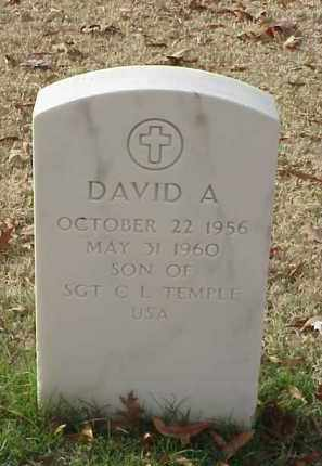 TEMPLE, DAVID A - Pulaski County, Arkansas | DAVID A TEMPLE - Arkansas Gravestone Photos