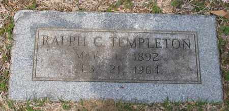 TEMPLETON, RALPH CLIFTON - Pulaski County, Arkansas   RALPH CLIFTON TEMPLETON - Arkansas Gravestone Photos