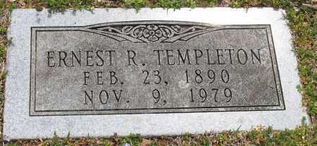 TEMPLETON (VETERAN WWI), ERNEST R. - Pulaski County, Arkansas | ERNEST R. TEMPLETON (VETERAN WWI) - Arkansas Gravestone Photos