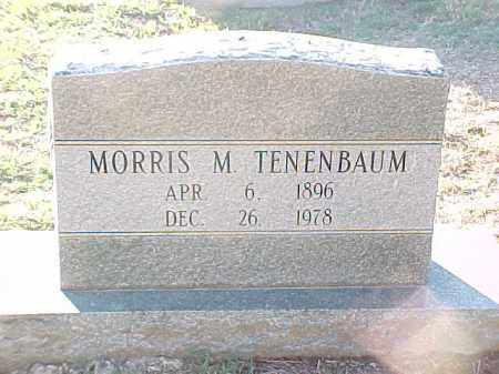 TENENBAUM (VETERAN WWI), MORRIS M - Pulaski County, Arkansas | MORRIS M TENENBAUM (VETERAN WWI) - Arkansas Gravestone Photos